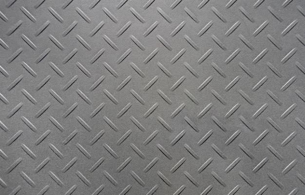 Black polyethylene plastic diamond plate or checker plate