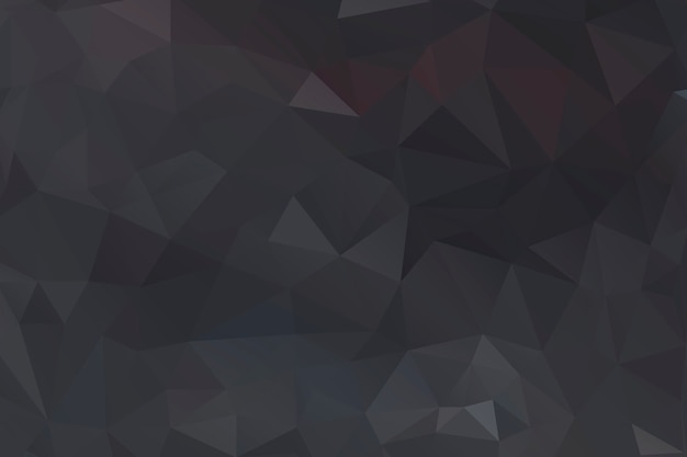 Black polygon abstract background design