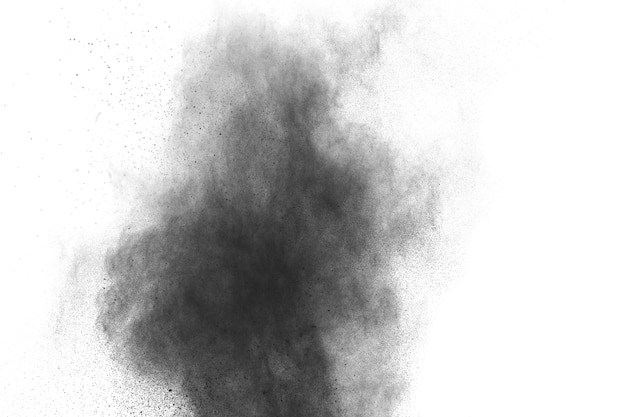 Black powder explosion.