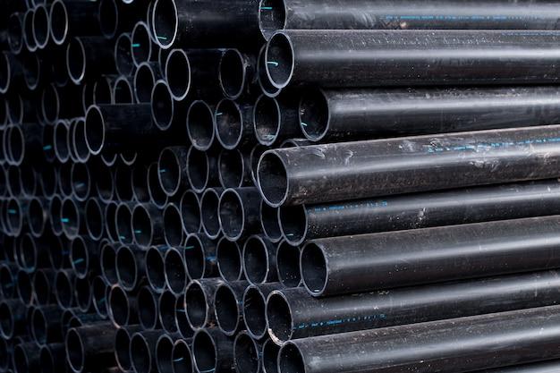 운반 물 오일 연료 공기 전달을위한 검은 색 고무 튜브 pvc 플렉스 파이프 또는 산업용 호스.