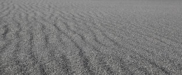 검은 모래 파도