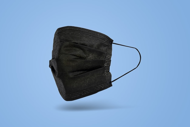Черная санитарная маска