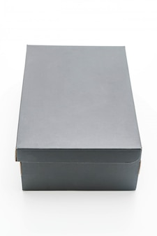 Black shoe box