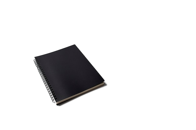Black sketch book