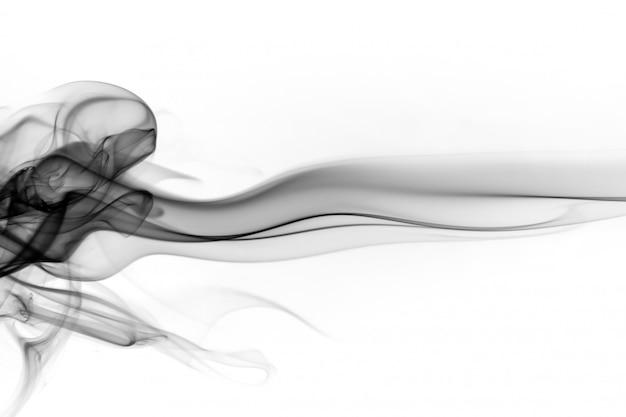 Черный дым аннотация на белом фоне