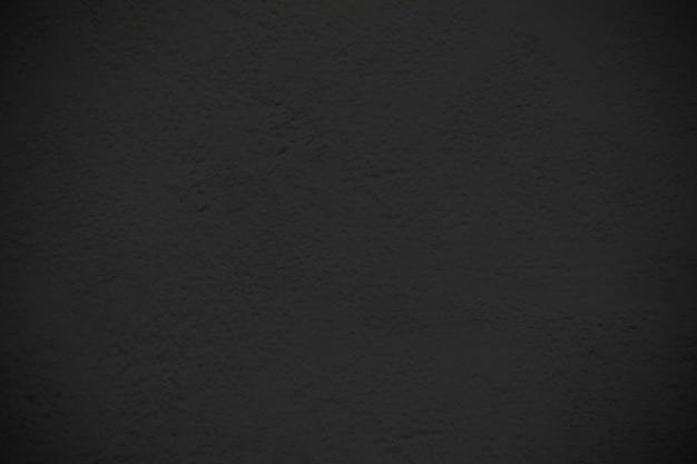 Sfondo nero muro di cemento liscio