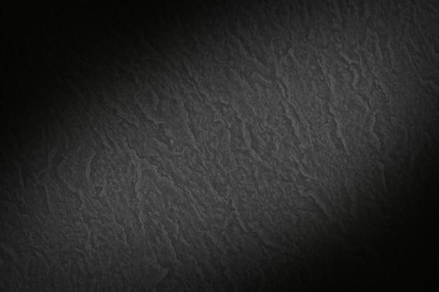 Sfondo di carta strutturata liscia nera