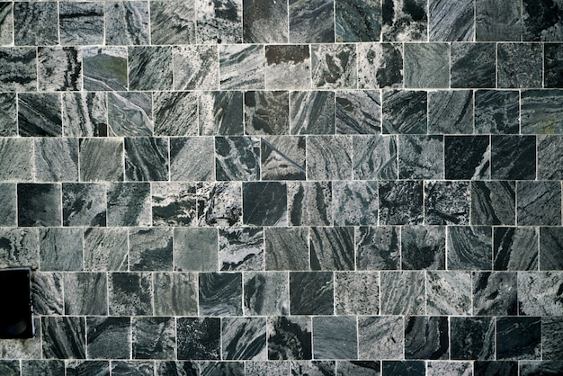 Black square tile background & wallpaper