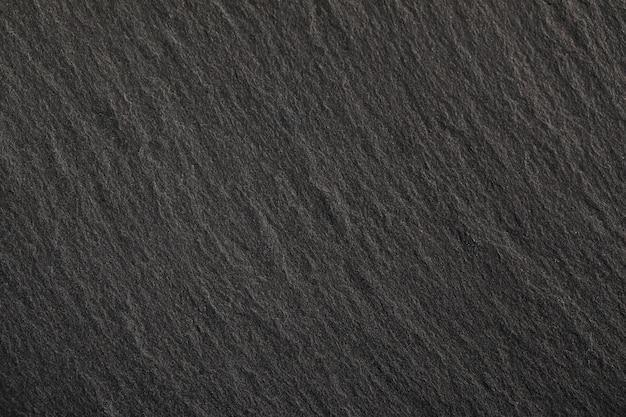 黒い石 。コンクリートの壁面テクスチャのダークグレーのバナー。