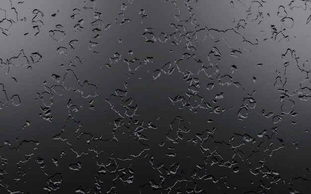 Black stone scratched background, 3d rendering