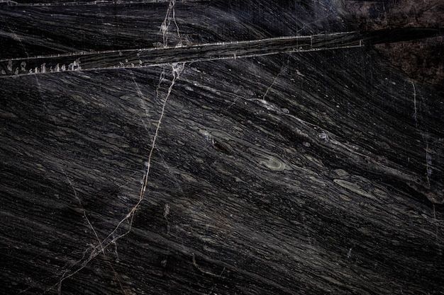 Black stone texture background cracked stone