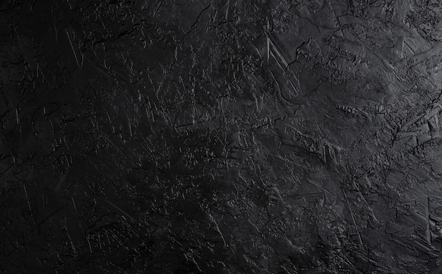 Black stone texture, dark slate background, top view