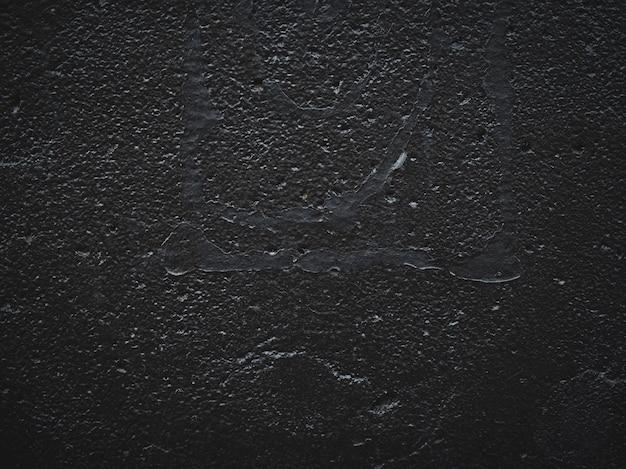 黒い石のテクスチャ、暗いスレートの背景