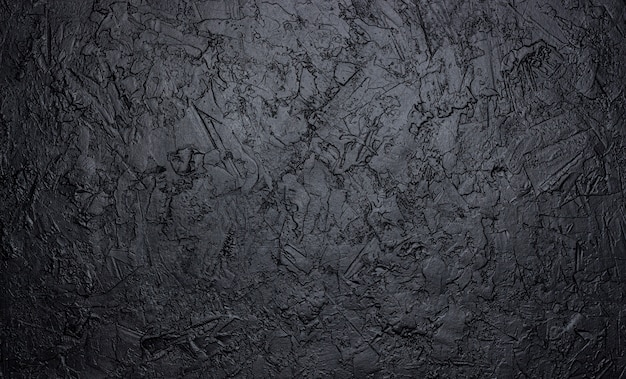 Black stone texture, dark slate background