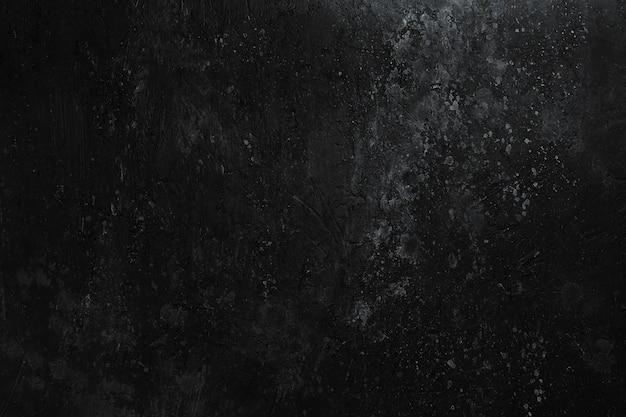 Черная каменная текстура с царапинами и пятнами краски темный фон Premium Фотографии