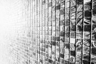 Black stone tile wall textures