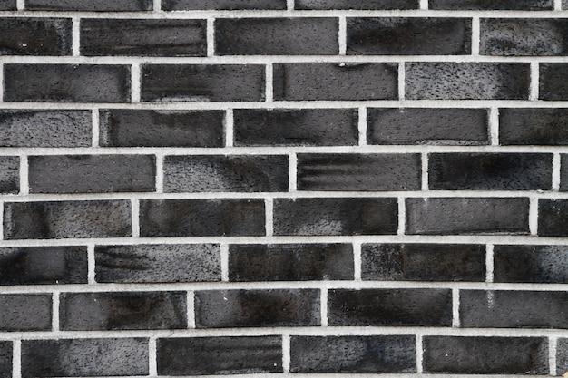 Black stone wall with beautiful patterns.