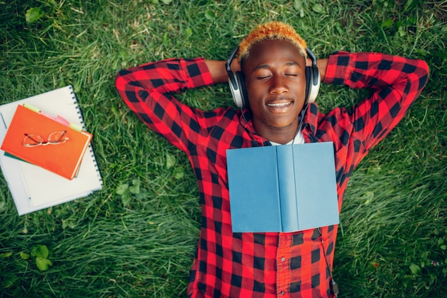 흑인 학생 잔디, 평면도에 휴식