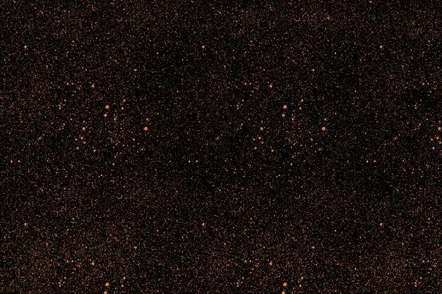 엄청난 양의 금 먼지 입자, 반짝임이 있는 검은색 세련된 배경. 프로젝트를 위한 패셔너블한 베이스.