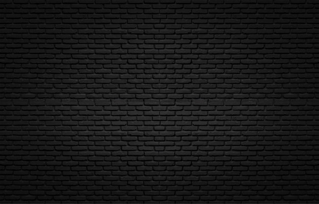 Black texture with brick wall for background