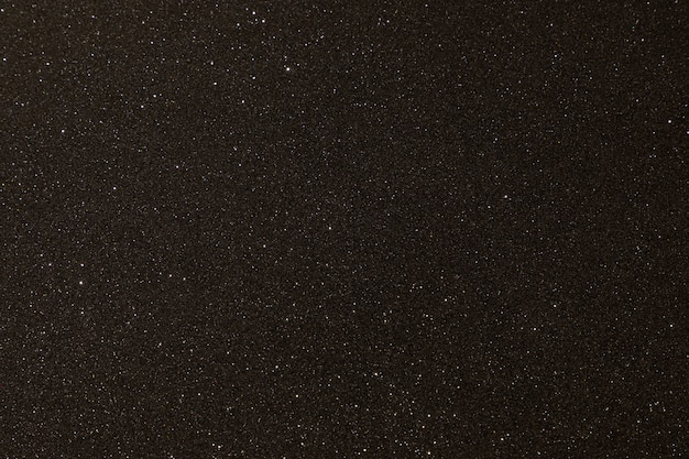 マイクロレリーフとキラキラの黒い質感。黒のキラキラテクスチャ