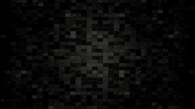 Black tile wall texture background. black friday concept
