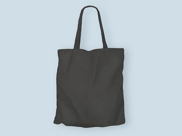 黒のトートバッグ