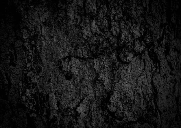 黒い木の樹皮
