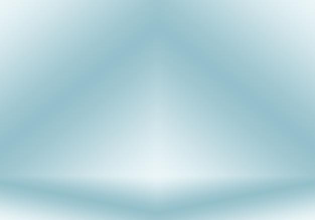 グラデーションブルーの抽象的な背景。 black vignette studioのスムースダークブルー