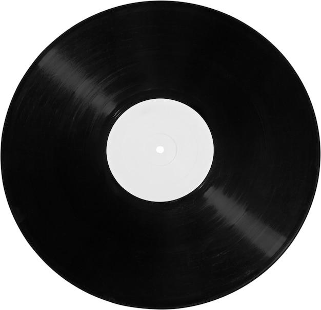 검은 비닐 레코드