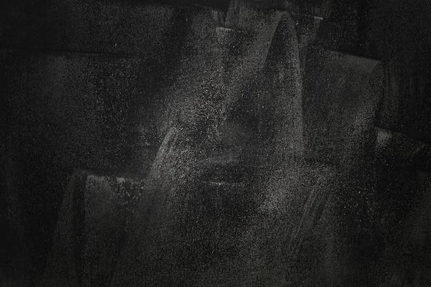 프리젠 테이션 제품에 대한 칠판 및 쇼룸 배경의 검은 벽