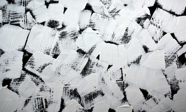 Black and white abstract painting background acrylic grunge color painted on canvas handmade