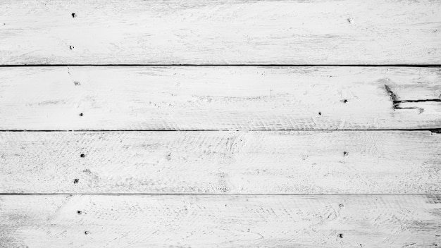 Black and white background of old wooden boards