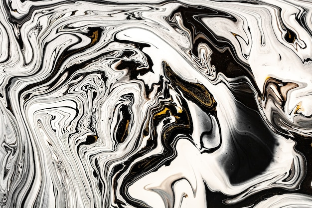 Black, white marble texture with golden lots of bold contrasting veining.