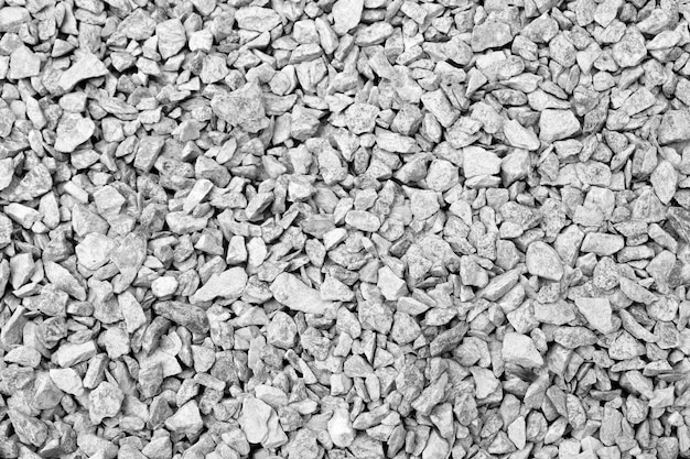 Black and white rock texture background close up