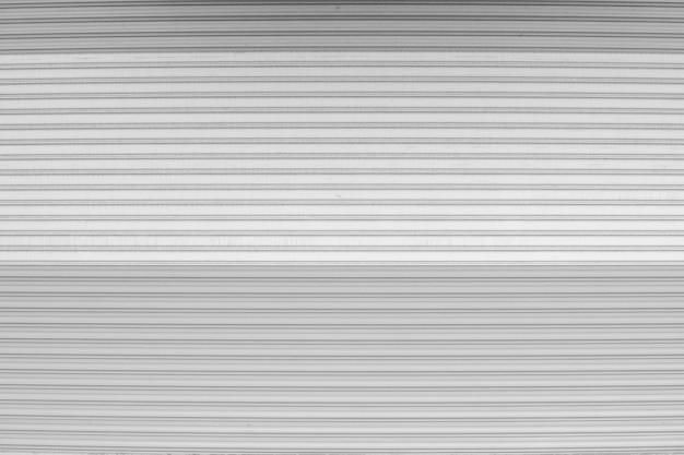 Black and white shutter door pattern texture background.
