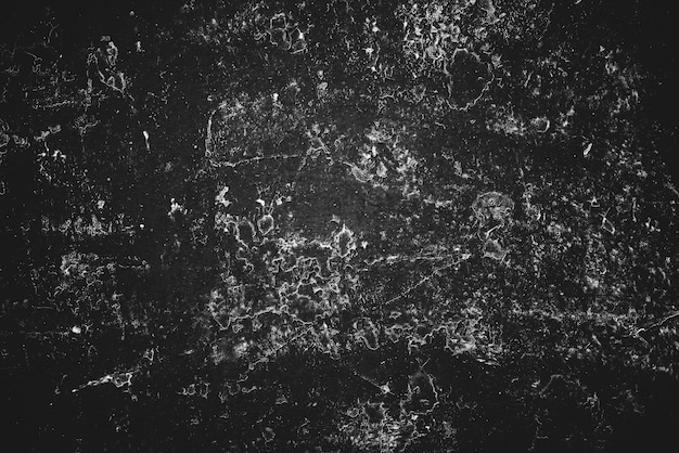 黒と白のビンテージアートの背景。装飾的なグランジスタッコの質感。モノクロのブックカバー。斑点のある傷のある壁のクローズアップ。マクロで塗られた石膏の背景。グレースケールのアートワークプレート。