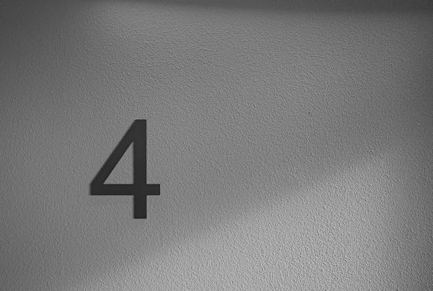Decorazioni da parete in bianco e nero