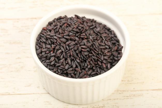 Black wild rice