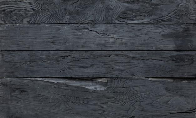 검은 나무 배경 까맣게 판자를 칠한 검은 얼룩 보드