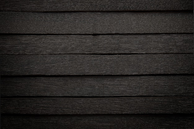 Black wood panel in dark style for background.