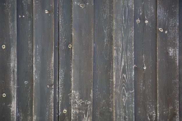 黒の木製の背景または色板グレーテクスチャ