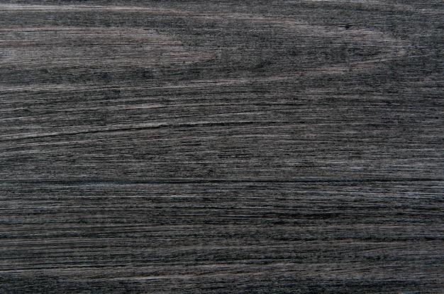 黒い木製、古い暗い灰色の背景、ビンテージテクスチャ