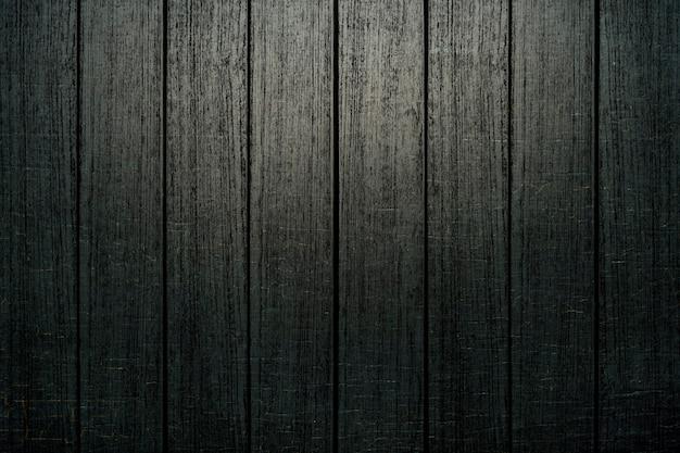 Fondo strutturato della plancia di legno nera