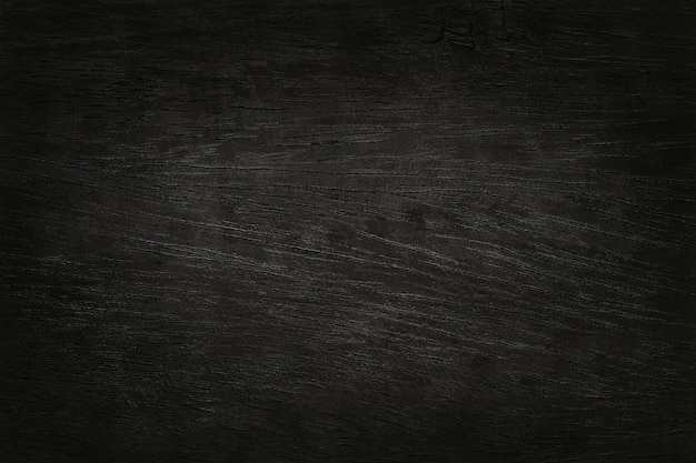 Black wooden plank wall background, texture of bark wood with old natural pattern.