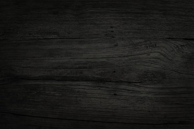 Черный деревянный фон стены планки, текстура древесины коры со старым естественным узором.