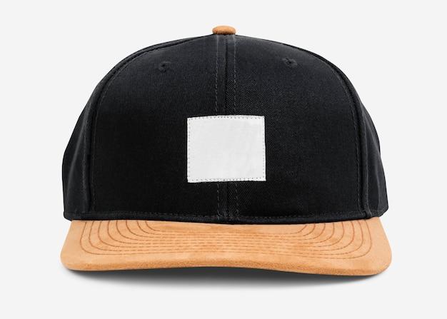 Black and yellow cap headwear accessory