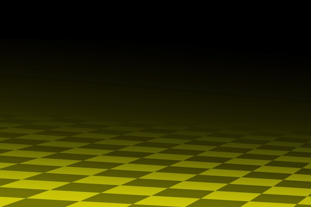 Black and yellow racing abstract background it stylized similar of the racing checkered flag