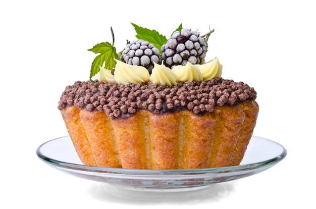 Ежевичный торт на праздники