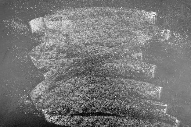 Доска, нарисованная мелом